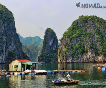 Fishing Village Halong Bay Vietnam Wonder Of The World