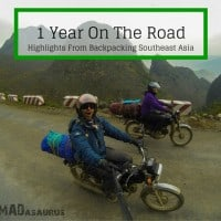 1 Year Travelling Backpacking Southeast Asia On The Road Highlights