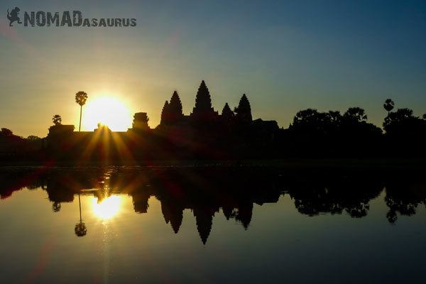 Sunrise Angkor Wat 1 Year Travelling Highlights Backpacking Southeast Asia