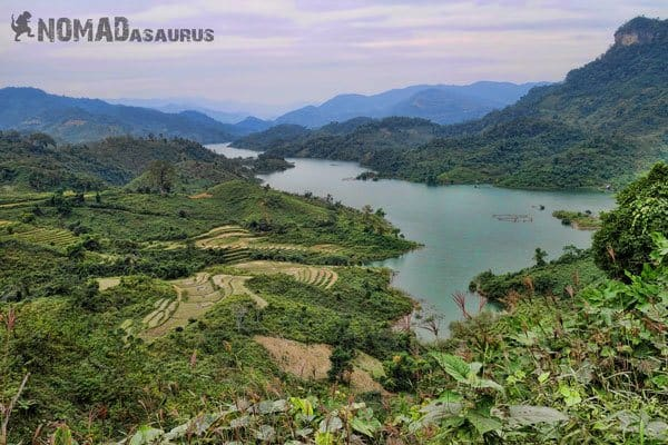 Ba Be Lake National Park Northern Vietnam Motorcycle Adventure North RIding Motorbike Ha Giang