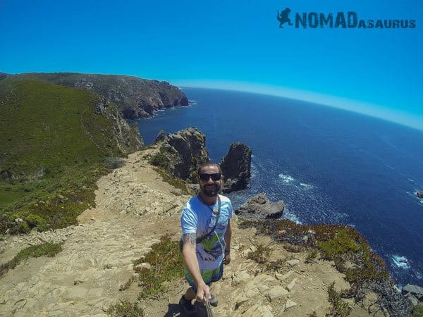Cabo Da Roca Portugal Jazza Selfie 1 Year Travelling Highlights Backpacking Southeast Asia
