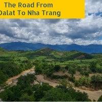 Riding Motorbikes Road From Dalat To Nha Trang
