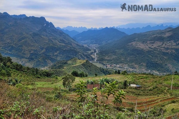 Dong Van View Northern Vietnam Motorcycle Adventure North Riding Motorbike Ha Giang