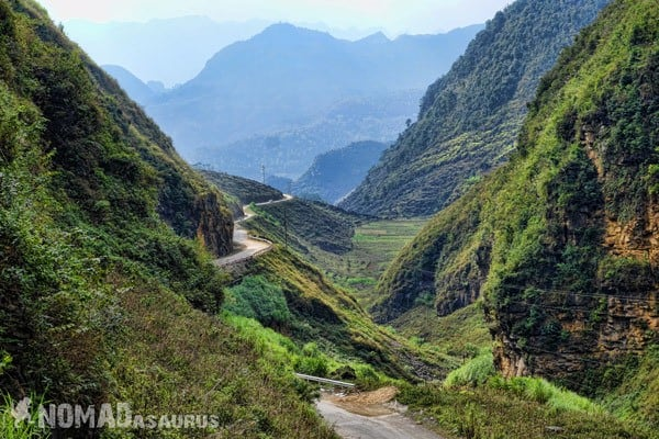 Roads Crazy Northern Vietnam Motorcycle Adventure North Riding Motorbike Ha Giang