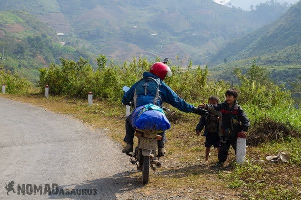 Kids High 5 Motorbike 1 Year Travelling Highlights Backpacking Southeast Asia