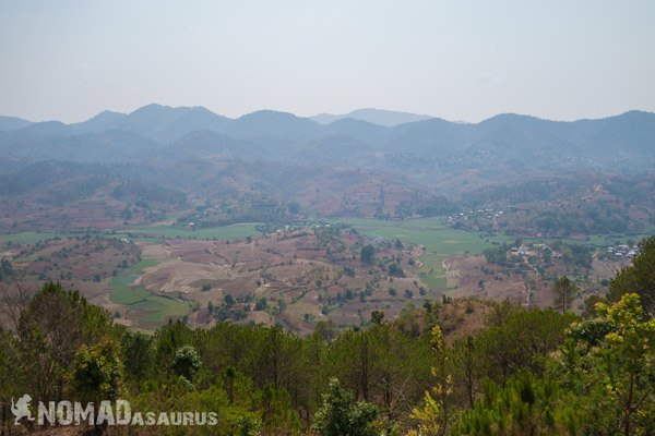 View Trekking From Kalaw To Inle Lake Myanmar Burma