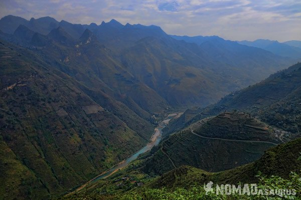 Ma Pi Leng Northern Vietnam Motorcycle Adventure North RIding Motorbike Ha Giang