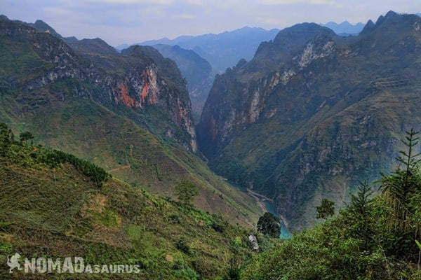 Ma Pi Leng Canyon Northern Vietnam Motorcycle Adventure North RIding Motorbike Ha Giang