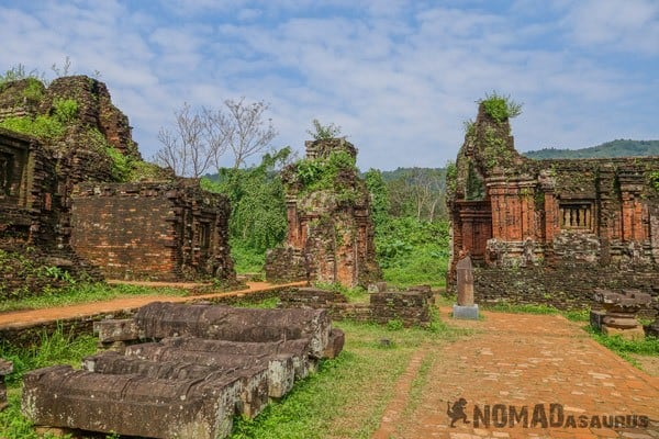 My Son Vietnam Ruins Temple Cham Culture Unesco Hoi An Vietnam