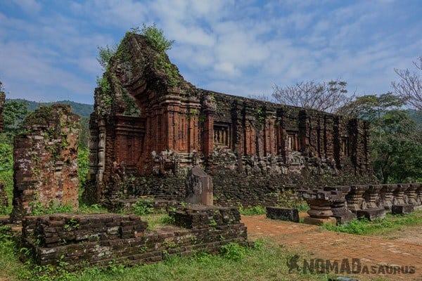 My Son Vietnam Ruins Cham Culture Unesco Hoi An Vietnam