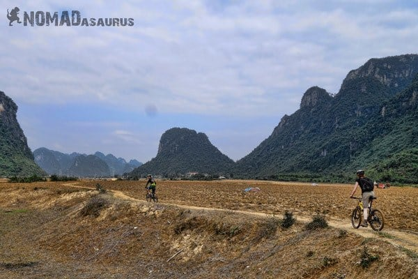 Fields Mountain Biking in Phong Nha Vietnam Things To Do Bike Tour