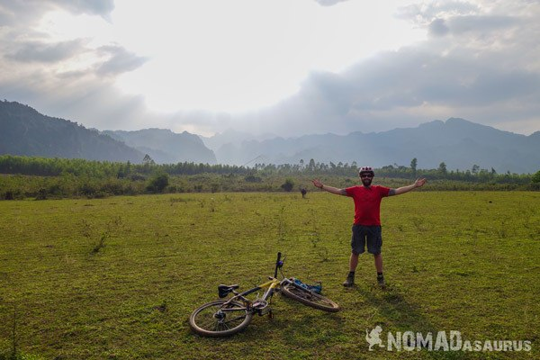 Jazza Mountain Biking in Phong Nha Vietnam Things To Do Bike Tour