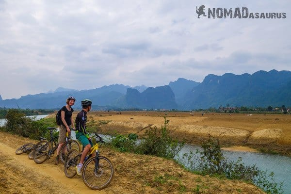 Shi Farmers Mountain Biking in Phong Nha Vietnam Things To Do Bike Tour