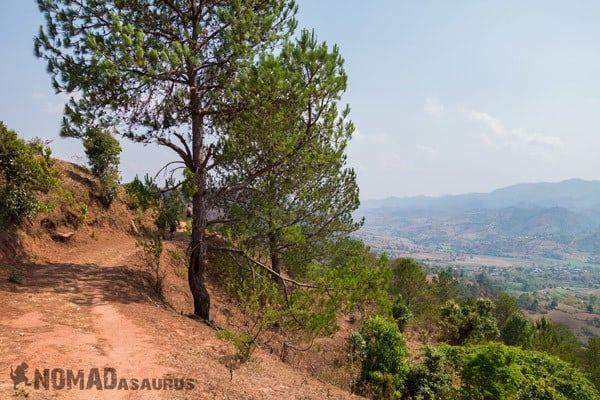 Trekking From Kalaw To Inle Lake Myanmar Burma