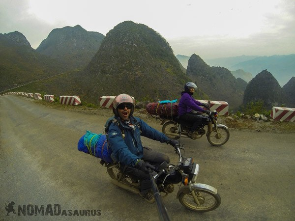 Ma Pi Leng Road Northern Vietnam Motorcycle Adventure North Riding Motorbike Ha Giang