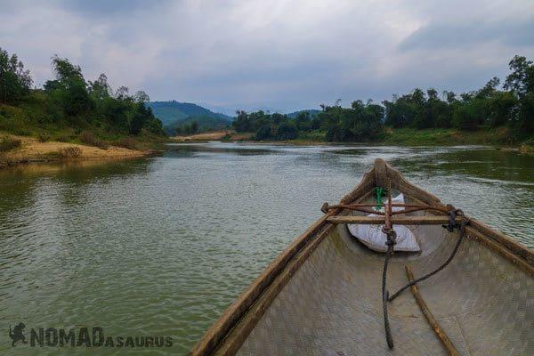 Boat Wild Boar Eco Farm Phong Nha Vietnam