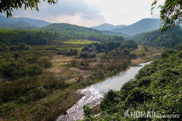 Bong Lai Views Wild Boar Eco Farm Phong Nha Vietnam