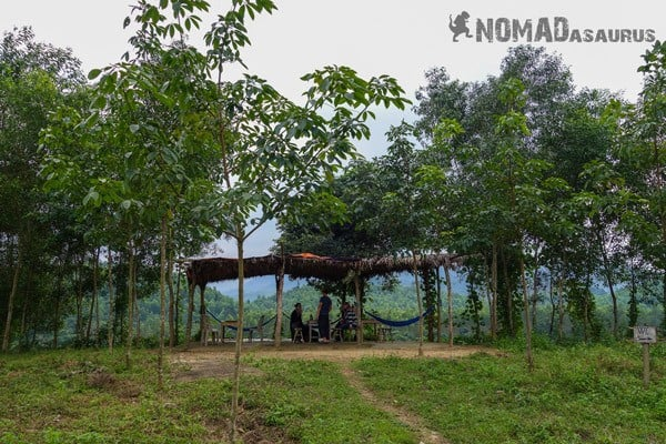 Dining Area Wild Boar Eco Farm Phong Nha Vietnam