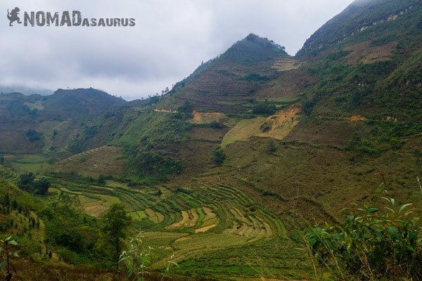 Coc Pai Rice Terrace Northern Vietnam Motorcycle Adventure North RIding Motorbike Ha Giang