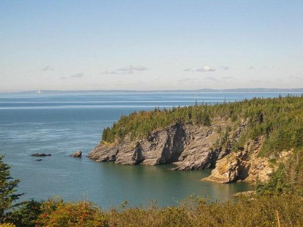 Bay Of Fundy New Brunswick Buying A Car Van Driving Across Canada Road Trip