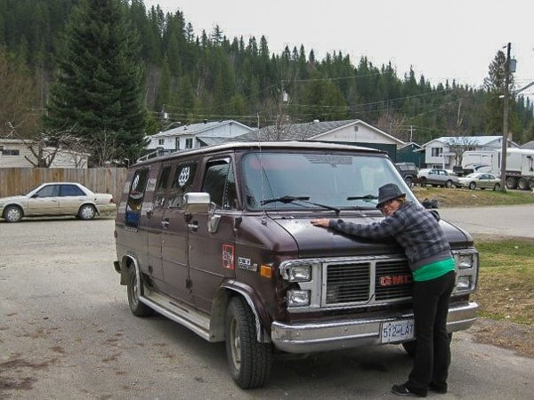 Lesh Revelstoke Buying A Car Van Driving Across Canada Road Trip
