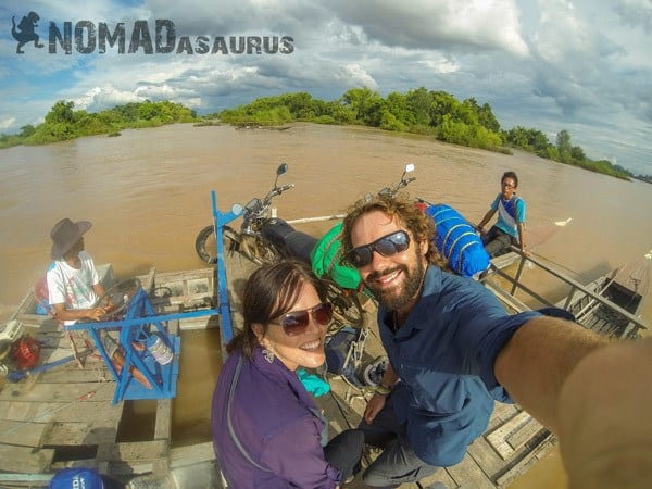 Mekong River 4000 Islands Crossing The Border With A Motorbike Laos Cambodia Vietnam Thailand Southeast Asia Experience
