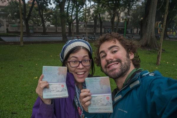 Getting A Chinese Visa In Hanoi, Vietnam - NOMADasaurus Adventure Travel Blog