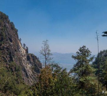 Hiking Mount Cangshan Dali Yunnan China