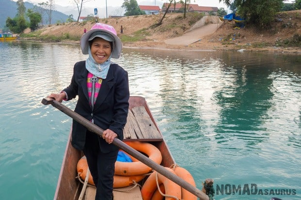 Madam Tham Life In Phong Nha Vietnam Images Pictures Photo Gallery