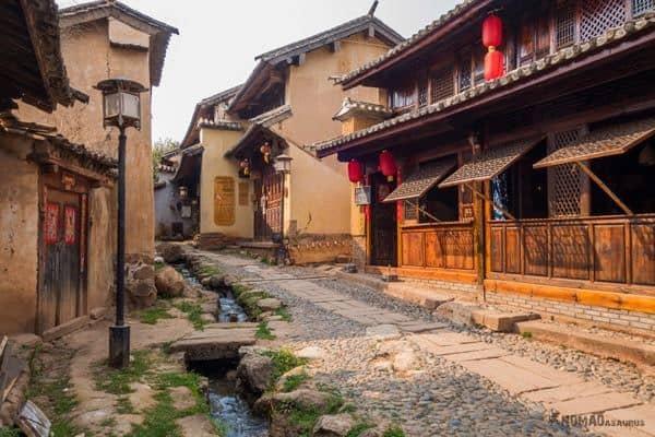Streets Shaxi China