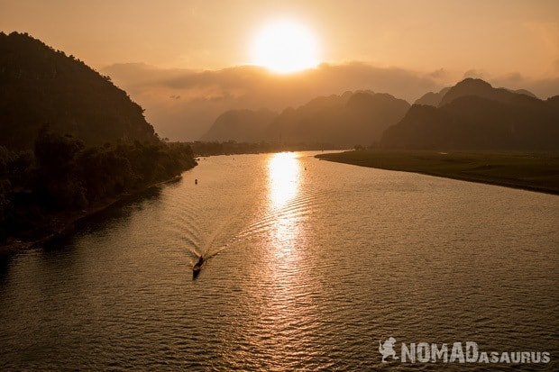 Sunset Life In Phong Nha Vietnam Images Pictures Photo Gallery