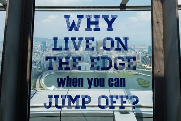 Window World's Highest Bungy Jump Macau Tower AJ Hackett Bungee