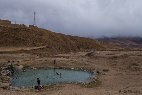 Darjay Gompa Hot Springs Tibet Overland Route Shangri La To Chengdu Kham Province Travel