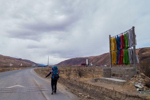 Hitch Hiking Ganzi Darjay Gompa Tibet Overland Route Shangri La To Chengdu Kham Province Travel
