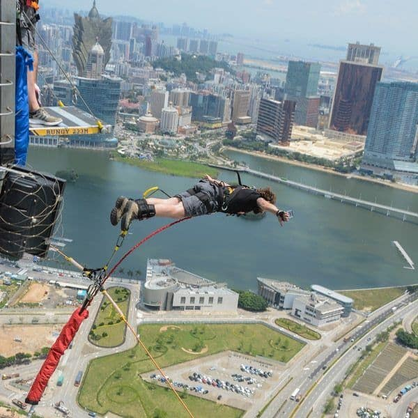 Best Things To Do In Macau With One Day World's Highest Bungy Jump Macau Tower Aj Hackett Bungee