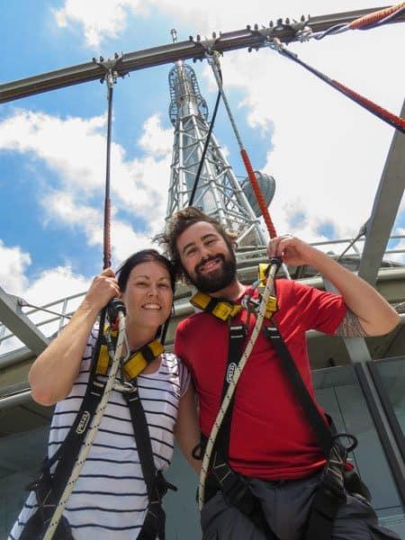 Lesh Jazza Aj Hackett Macau Tower Skywalk Best Things To Do In Macau