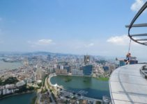 Living On The Edge – The Skywalk On Macau Tower