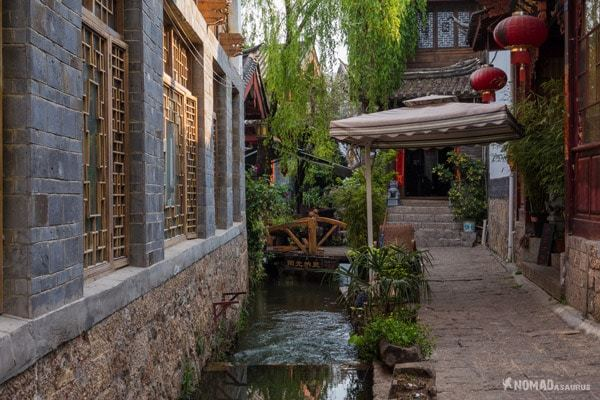 Quiet Alley Lijiang Yunnan China