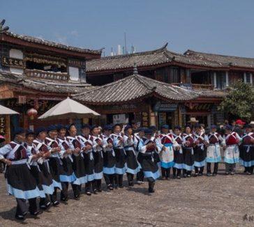 Dancing Women Lijiang Yunnan China