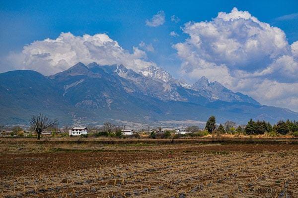 Jade Dragon Snow Mountain Lijiang Yunnan China