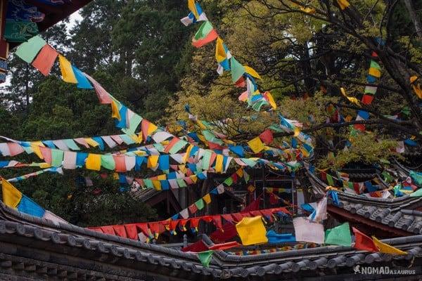 Prayer Flags Lijiang Yunnan China
