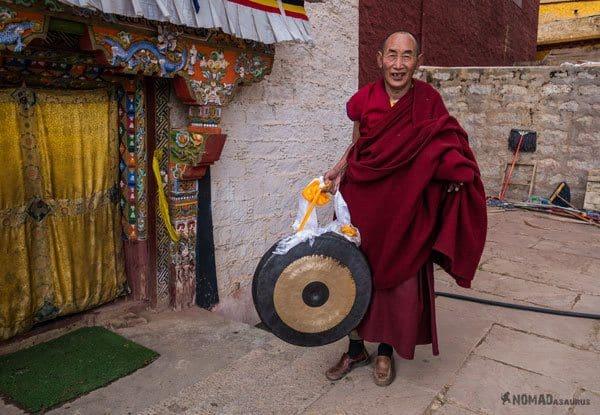Litang Monk Tibet Overland Route Shangri La To Chengdu Kham Province Travel