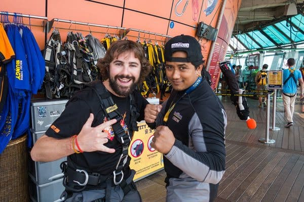 Ram Nepal World's Highest Bungy Jump Macau Tower AJ Hackett