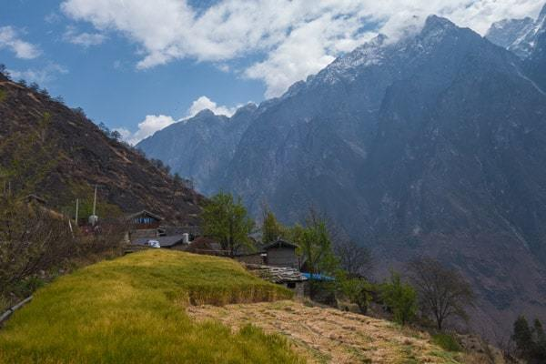 Walnut Grove Tiger Leaping Gorge Trekking Guide Yunnan China