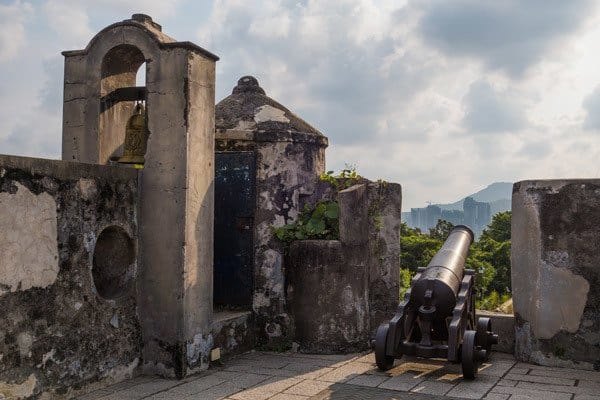 Cannon Fort Best Things To Do In Macau With One Day