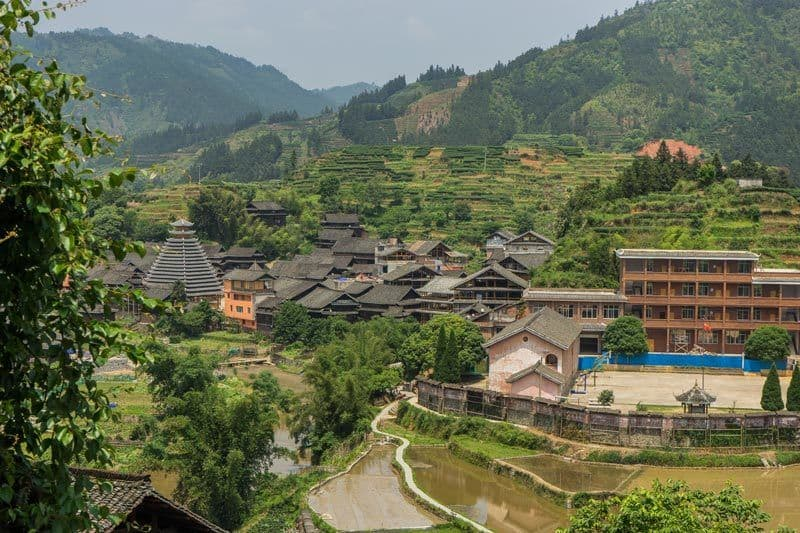 Sanjian Guesthouse Where To Stay In Chengyang Ancient Village Guangxi China