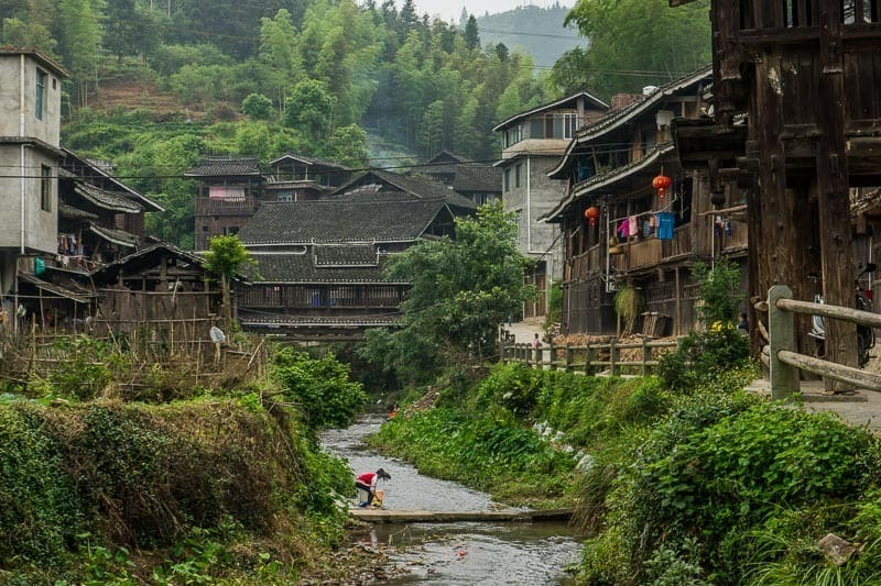 Chengyang Ancient Village Guangxi China
