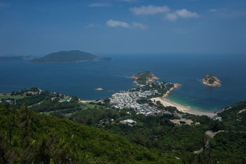 Dragon's Back Hike Lantau Island Nature Hiking Beach Free Camping In Hong Kong