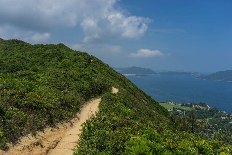 Dragons Back Beaches Nature Hiking Free Camping in Hong Kong