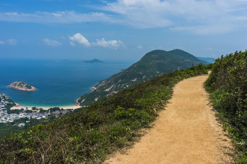 Dragon's Back Lantau Island Nature Hiking Beach Free Camping In Hong Kong
